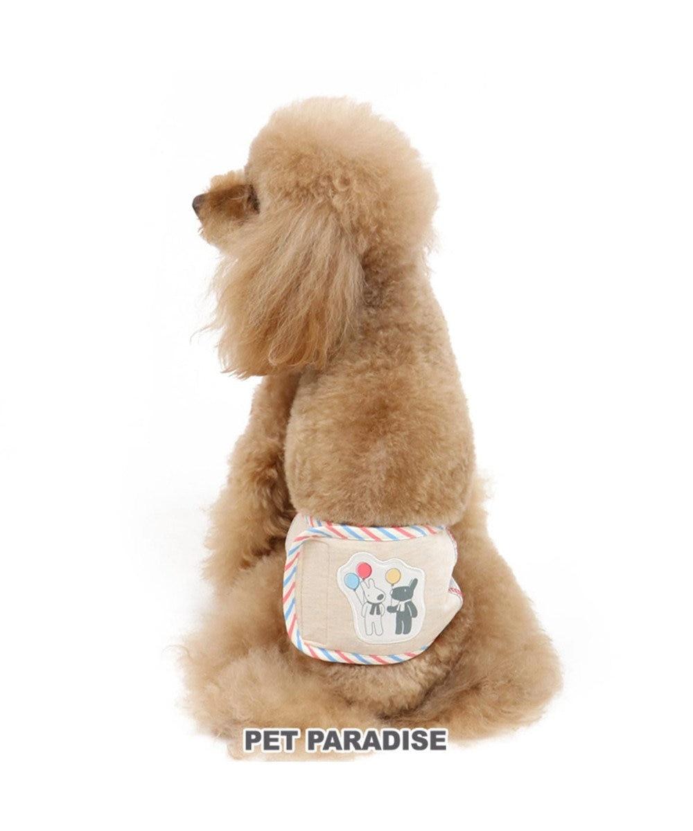 PET PARADISE リサとガスパール 風船柄 マナーベルト 〔超小型・小型犬〕 グレー