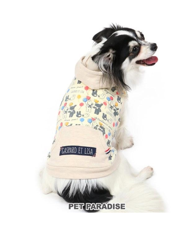 PET PARADISE リサとガスパール 風船柄 パーカー 〔超小型・小型犬〕