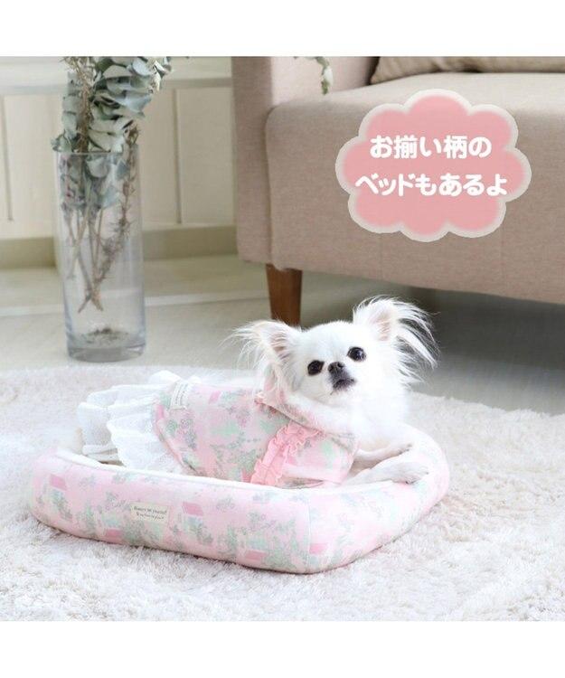 PET PARADISE ペットパラダイス ガーデン柄 ワンピース ピンク 〔超・小型犬〕