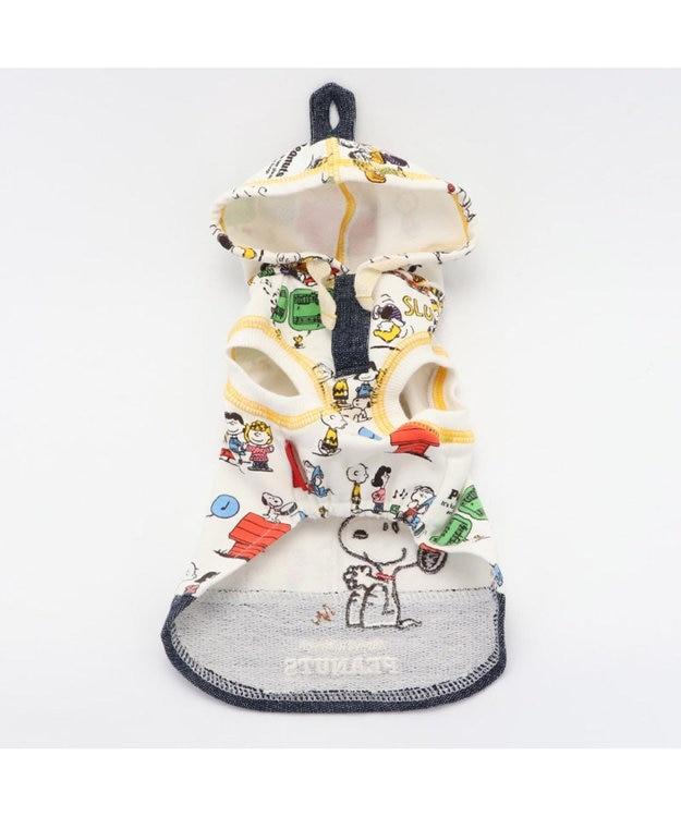 PET PARADISE スヌーピー クラッシック柄 パーカー 〔超小型・小型犬〕