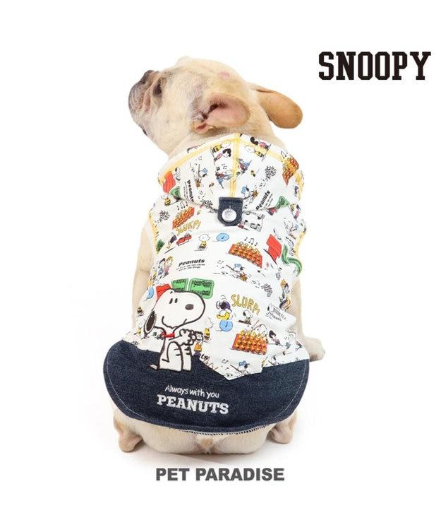 PET PARADISE スヌーピー クラッシック柄 パーカー 〔中型犬〕