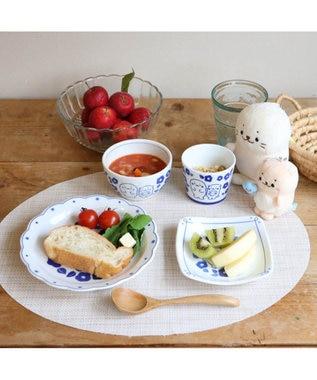 Mother garden しろたん 和食器 しろたん&らっこいぬ 椿柄 深鉢 日本製 父の日 母の日 プレゼント 0