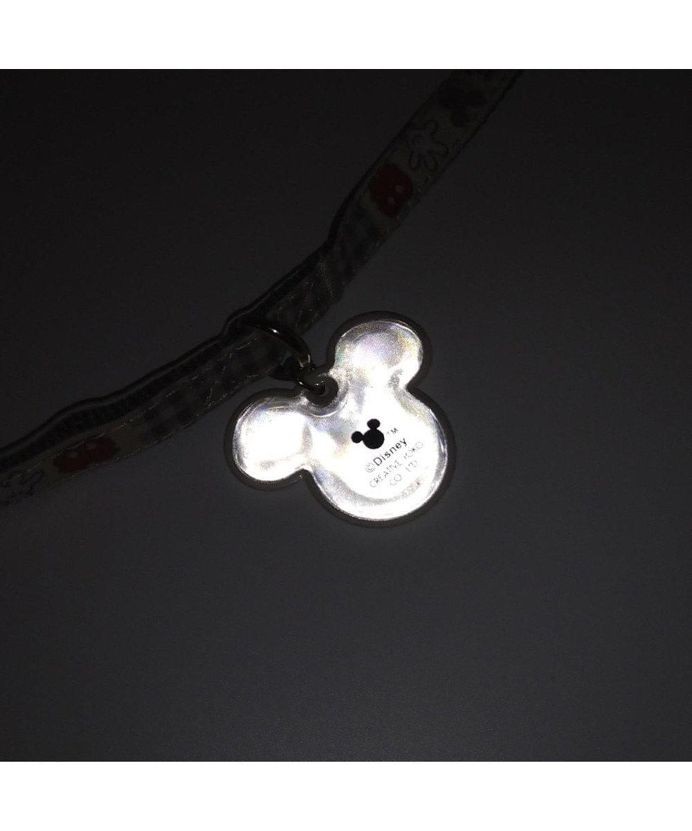 PET PARADISE ディズニー ミッキー アイコン柄 リード 4S~3S〔小型犬〕 グレー