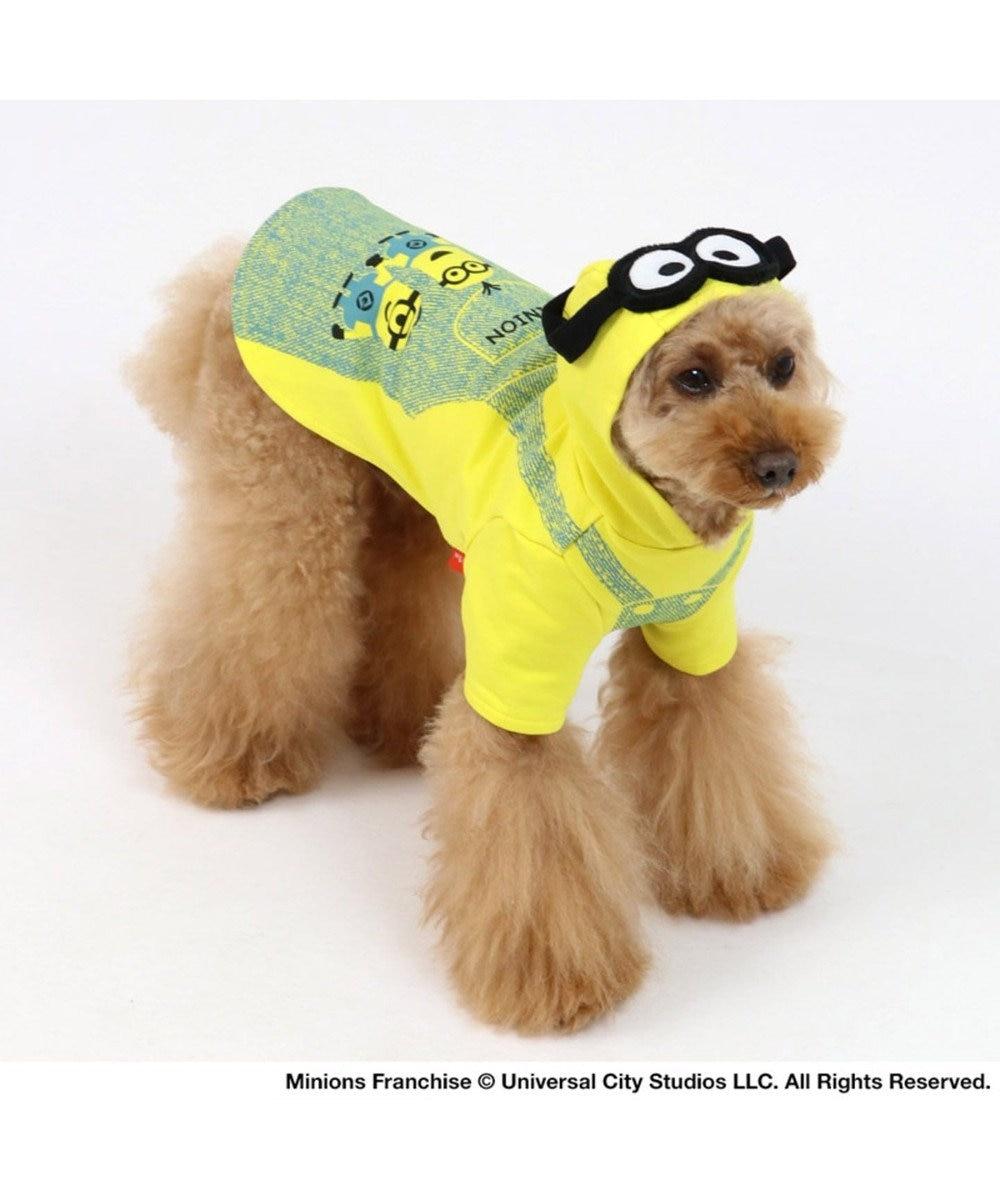 PET PARADISE ミニオン ゴーグル付 パーカー 〔小型犬〕 超小型犬 小型犬 黄