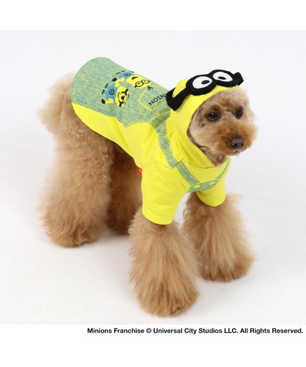 PET PARADISE ミニオン ゴーグル付 パーカー 〔小型犬〕 超小型犬 小型犬