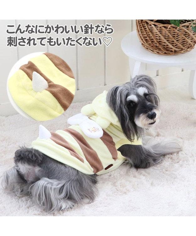 PET PARADISE ペットパラダイス 蜂くま パーカー 〔超小型・小型犬〕 黄