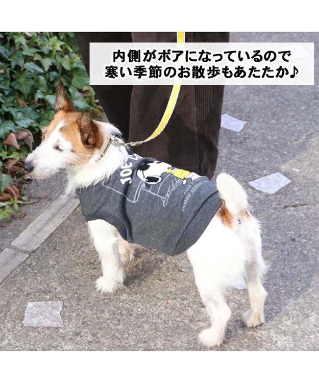 PET PARADISE スヌーピー ジョークール トレーナー ライトグレー 〔超小型・小型犬〕