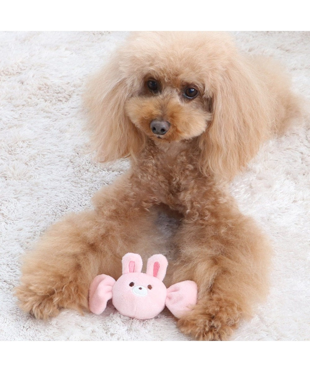 PET PARADISE ペットパラダイス キャンディ トイ 愛犬用 おもちゃ うさぎ ピンク(淡)