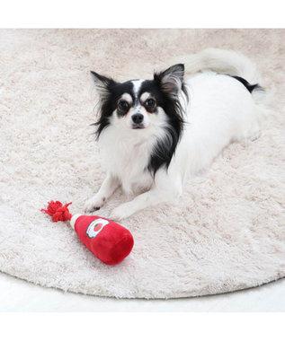 PET PARADISE ペットパラダイス ケチャップ トイ 愛犬用 おもちゃ 赤