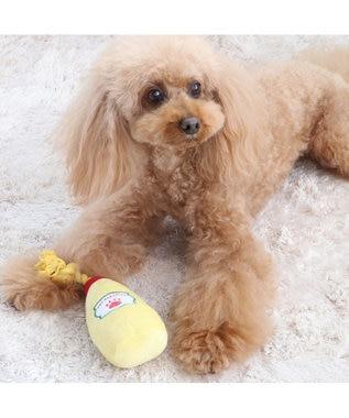 PET PARADISE ペットパラダイス マヨネーズ トイ 愛犬用 おもちゃ 黄