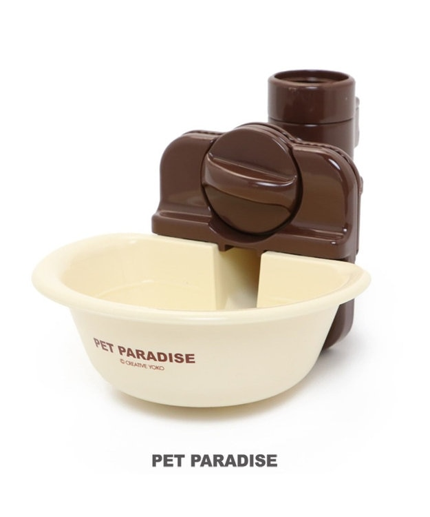 PET PARADISE ペットパラダイス ウォーターボウル アイボリー ケージ取り付け