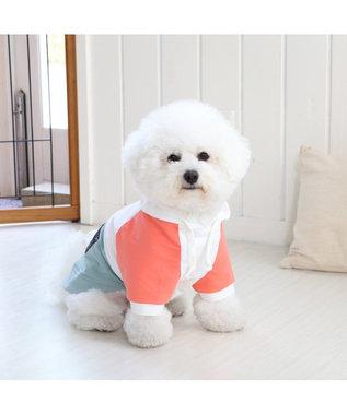PET PARADISE Lee 春 パーカー ホワイト&グリーン 〔超小型・小型犬〕 0