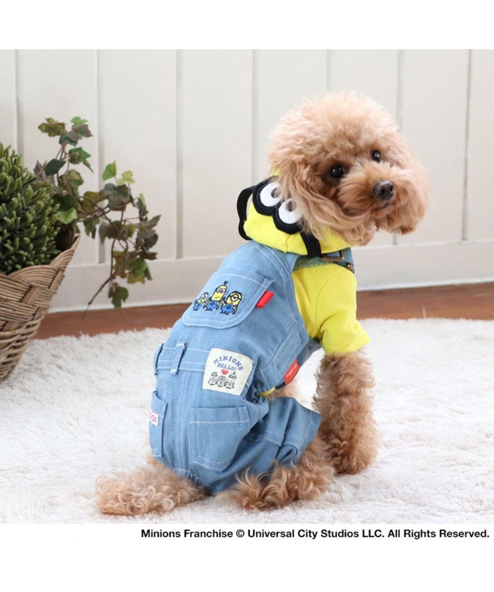 PET PARADISE ミニオン デニム オーバーオール 〔超小型・小型犬〕 青