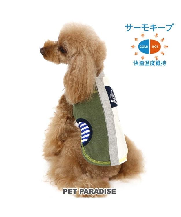PET PARADISE ペットパラダイス サーモキープ 背開き Tシャツ 〔超・小型犬〕