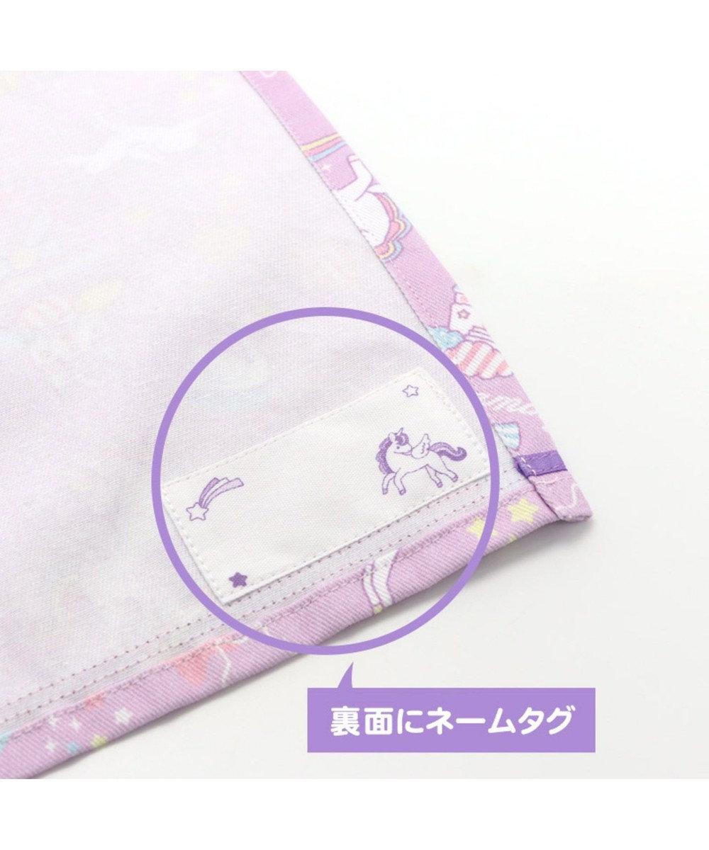 Mother garden マザーガーデン ユニコーン  ランチマット M ナフキン 紫