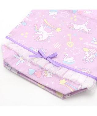 Mother garden マザーガーデン ユニコーン コップ 巾着袋  プラコップ巾着 紫