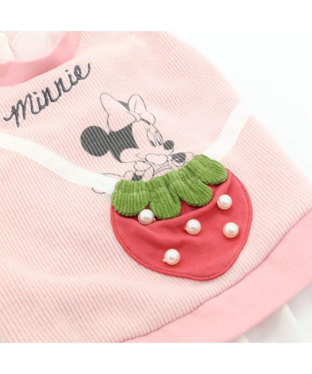 PET PARADISE ディズニー ミニーマウス 苺 ポシェットトレーナー〔超・小型犬〕 ピンク(淡)