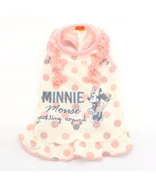 PET PARADISE ディズニーミニーマウス サーモキープパイルタンクトップ〔小型犬〕 ピンク(淡)