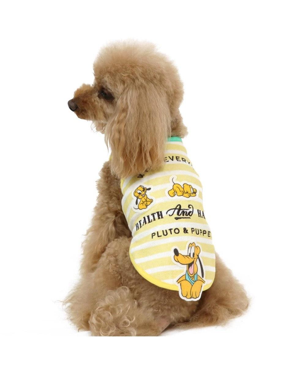 PET PARADISE ディズニー プルート&パピー サーモキープタンクトップ〔小型犬〕 黄
