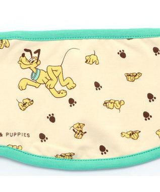 PET PARADISE ディズニー プルート&パピー マナーベルト 〔超小型・小型犬〕 黄緑