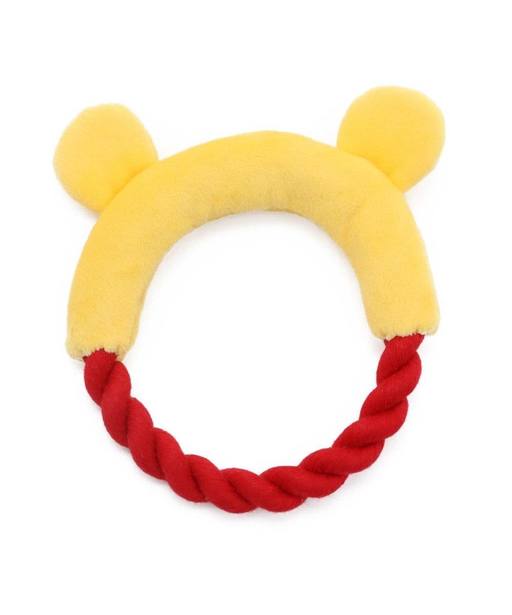 PET PARADISE ディズニー くまのプーさん 顔 ロープ 愛犬用 おもちゃ プーさん
