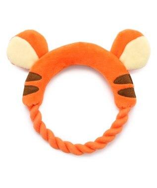 PET PARADISE ディズニー くまのプーさん 顔 ロープ 愛犬用 おもちゃ ティガー
