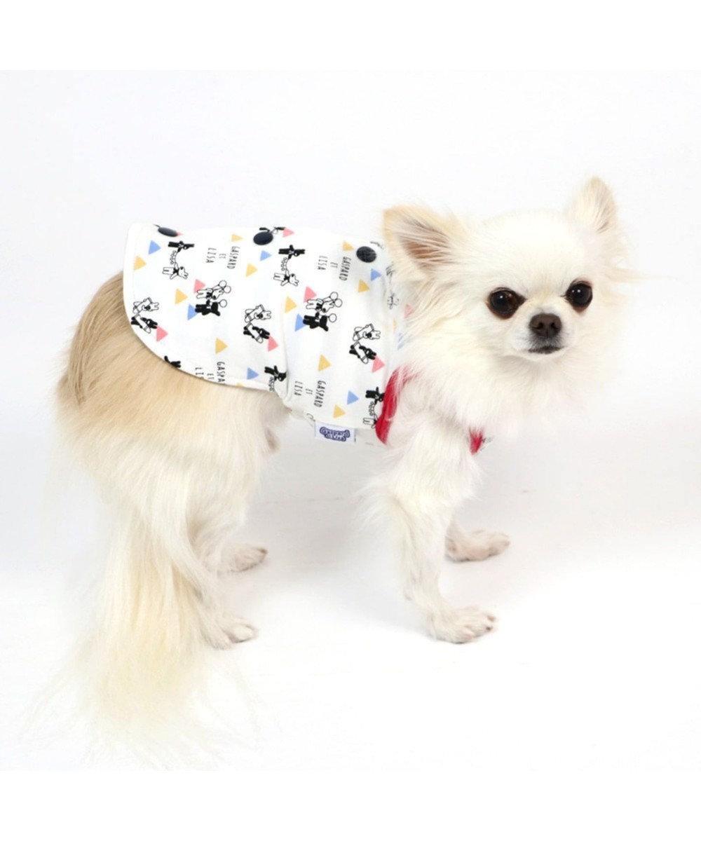 PET PARADISE リサとガスパール 背開きリバーシブル ベスト 〔超小型・小型犬〕 マルチカラー