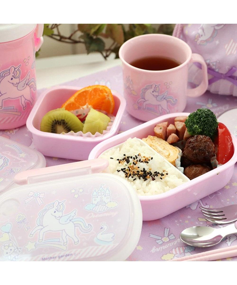 Mother garden マザーガーデン ユニコーン 1段お弁当箱 ランチボックス 0
