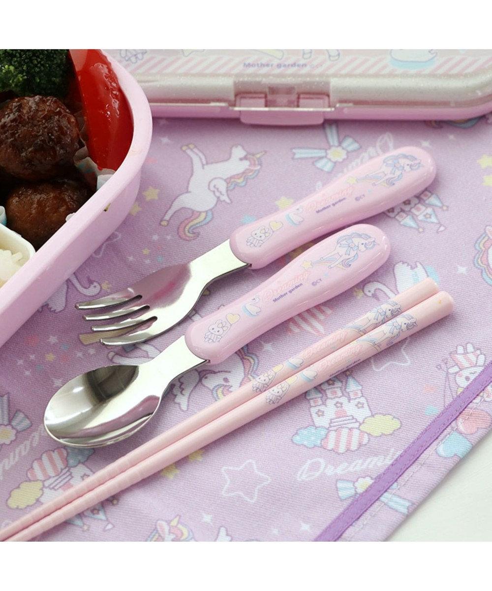 Mother garden マザーガーデン ユニコーントリオセット お箸&スプーン&フォーク 0