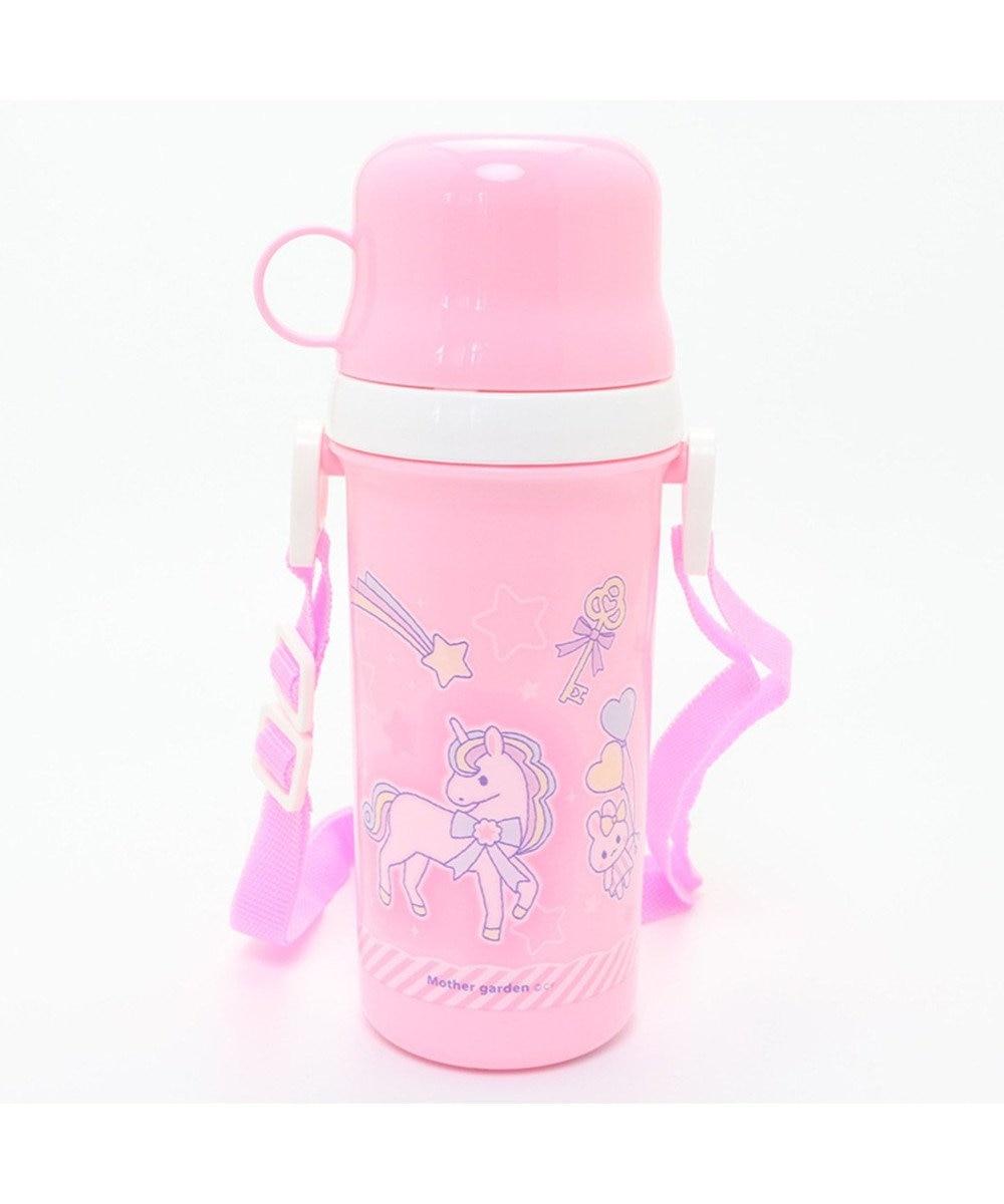 Mother garden マザーガーデン ユニコーン コップ付きプラ水筒 500ml日本製 0