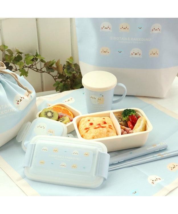 Mother garden しろたん もぐもぐ柄 蓋つきコップ 300ml 日本製 食洗機可