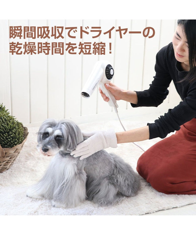 PET PARADISE ペットパラダイス クィックドライ 手袋