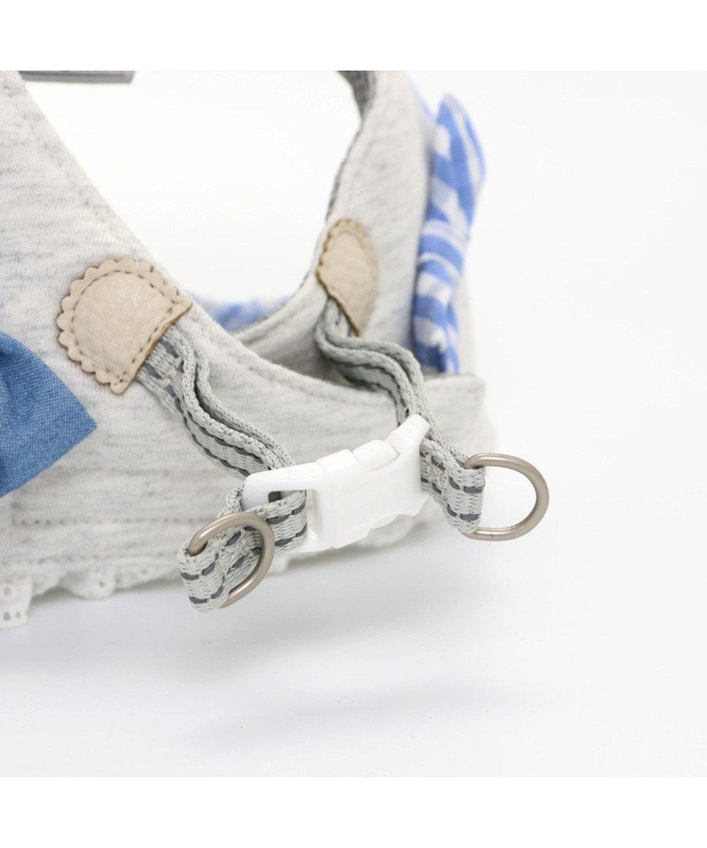 PET PARADISE ペットパラダイス りぼん ベストハーネス ペットSS 〔小型犬〕 グレー
