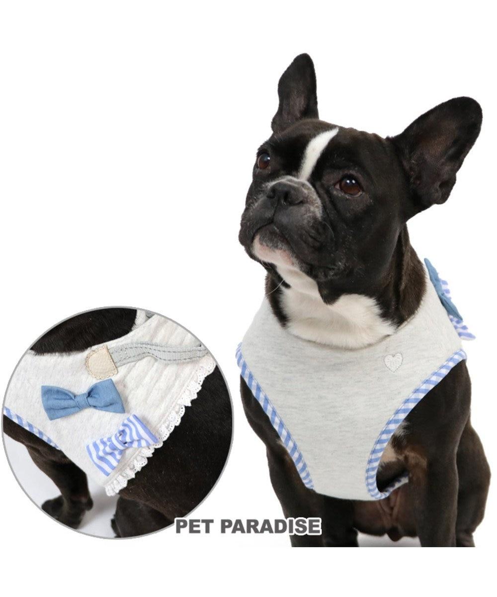 PET PARADISE ペットパラダイス りぼん ベストハーネス ペットSM 〔中型犬〕 赤