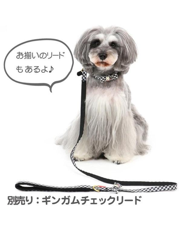 PET PARADISE リサとガスパール ギンガムチェック 首輪 ペット3S 〔小型犬〕