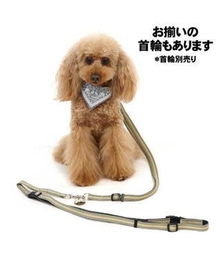 PET PARADISE ペットパラダイス 2way ショルダー リード ペットSS~S〔小型犬〕 カーキ