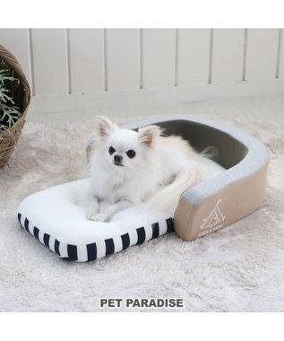 PET PARADISE ペットパラダイス 折畳み ソファー カドラー ベッドS カーキ