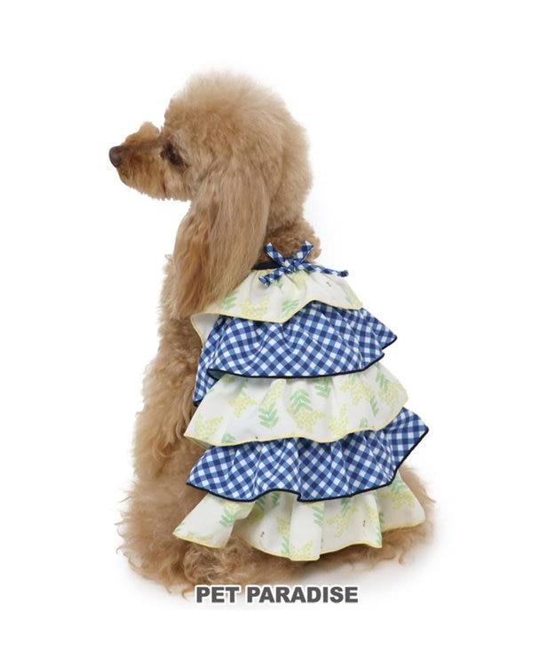 PET PARADISE ペットパラダイス フリル ワンピース ミモザ 〔超小型・小型犬〕