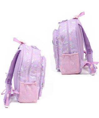 Mother garden マザーガーデン ユニコーン 子供用リュックサック Lサイズ キッズ 女の子 小学生 リュック リュックサック 子供 キッズ ジュニア 子ども こども おしゃれ 誕生日プレゼント デイパック カバン バックパック 遠足 紫