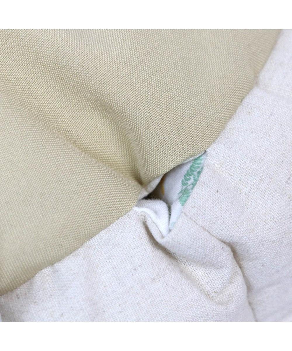 PET PARADISE ペットパラダイス ミモザ柄 カドラーベッド (55cm) 黄