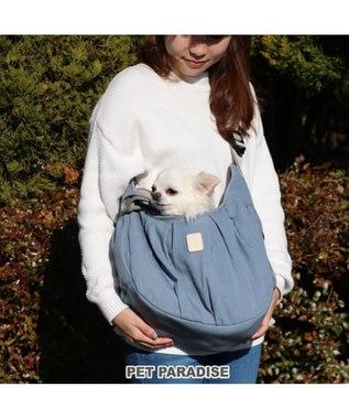 PET PARADISE ペットパラダイス フリル ソフト キャリーバッグ 〔超小型犬〕 水色