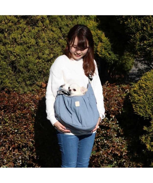 PET PARADISE ペットパラダイス フリル ソフト キャリーバッグ 〔超小型犬〕