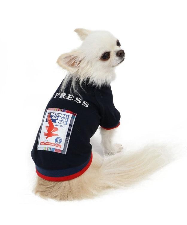 PET PARADISE J.PRESS 切手アート トレーナー 〔超小型・小型犬〕