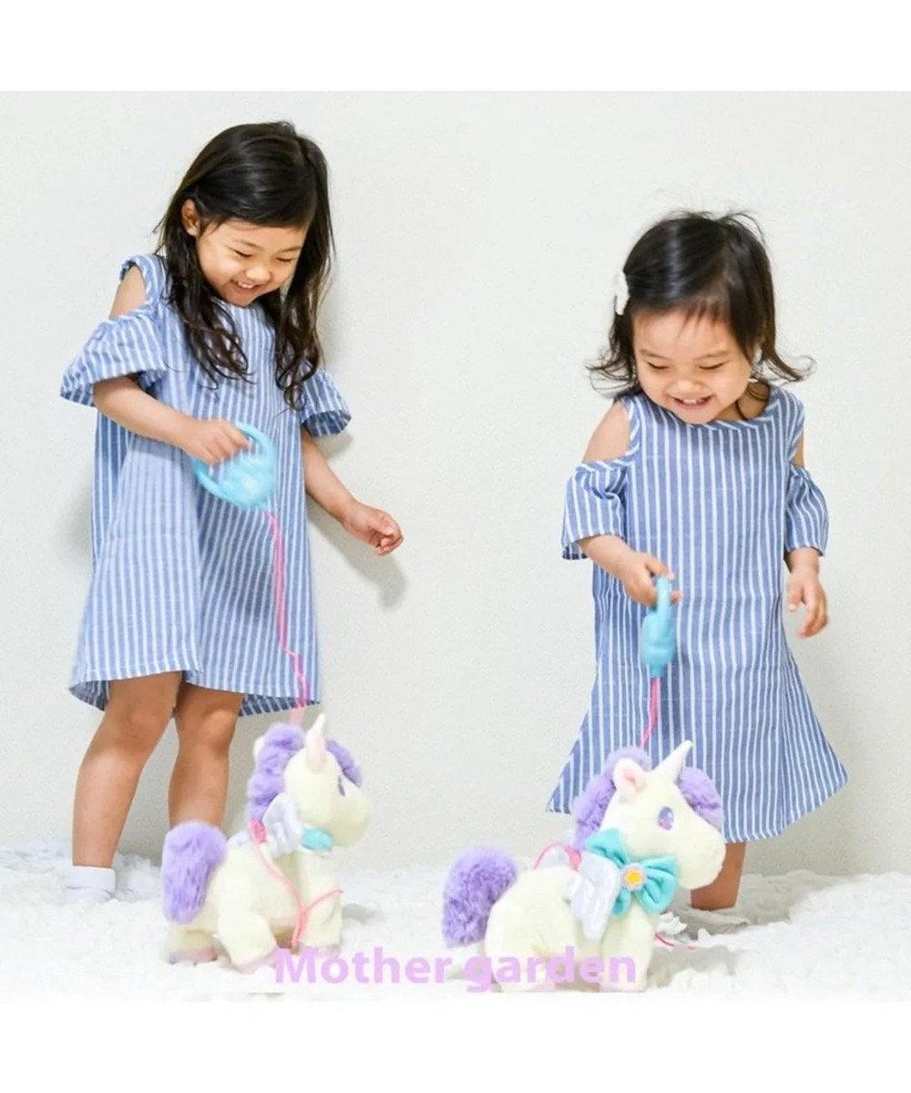 Mother garden マザーガーデン ドリーム ユニコーン クリーム 羽根付き ぬいぐるみ  動くおもちゃ 歩くおもちゃ 電池おもちゃ お馬さん ウマ 女の子 男の子 お家遊び 室内あそび おうち遊び 2歳 3歳 4歳 玩具 0