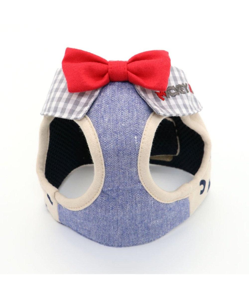 PET PARADISE ミッキーマウス アイコン柄 ベストハーネス S 〔小型犬〕 グレー