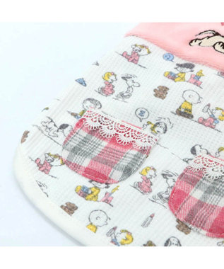 PET PARADISE スヌーピー ベイビー タンクトップ 桃 〔超小型・小型犬〕 ピンク(淡)