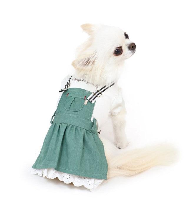 PET PARADISE ペットパラダイス カーキ スカート 上下 〔超小型・小型犬〕