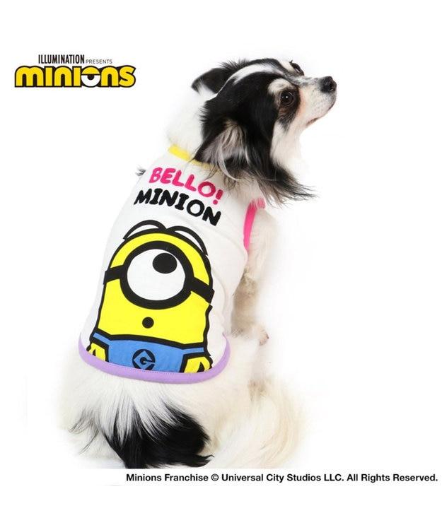 PET PARADISE ミニオン フェイス Tシャツ 〔超小型・小型犬〕