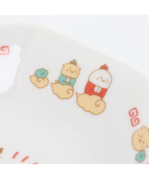 Mother garden しろたん 中華食器 炒飯皿 《カンフー ハオチー柄》単品 日本製