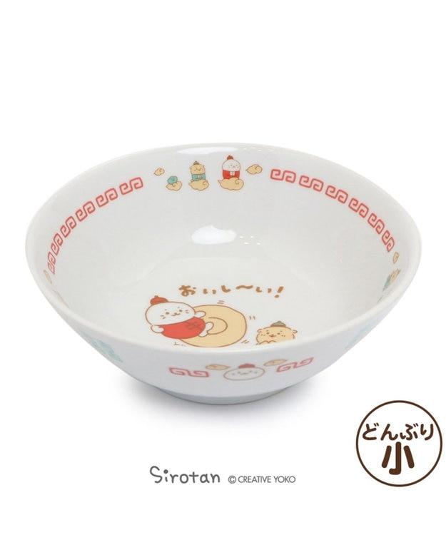 Mother garden しろたん 中華食器 ラーメンどんぶり《カンフーおいし~い!柄》小